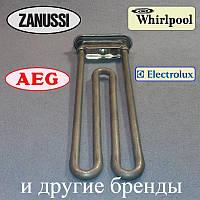 ТЕН 1950 W / 235 мм (є отвір під датчик) для пральної машини Whirlpool ZANUSSI і