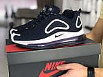 Чоловічі кросівки Nike Air Max 720 (темно-сині з білим) 8927, фото 2