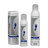 """Sanamed Крем-пена """"Сапфир"""" для ороговевшей кожи с глубокими трещинами 300 мл"""