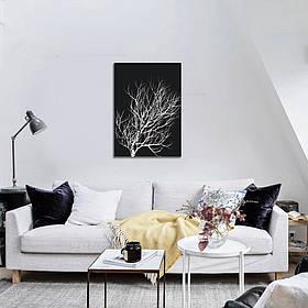 """Постер на холсте """"Зимнее дерево"""""""
