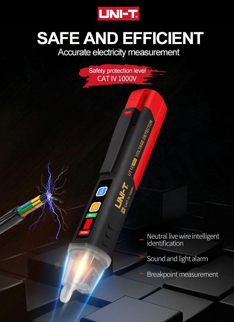 Указатель напряжения переменного тока UNI-T UT12D Pro