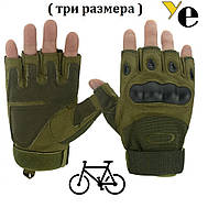 Беспалыевелоперчатки Oakley Glove, Green