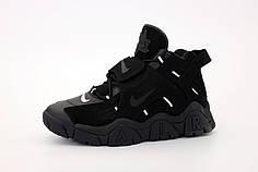 Мужские кроссовки Nike Air Barrage. Black Black. ТОП Реплика ААА класса.