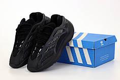 Мужские кроссовки Adidas Yeezy 700 V3 Azael. Black . ТОП Реплика ААА класса.