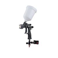 КРАСКОПУЛЬТ WALCOM GENESI CARBONIO 360 HTE CLEAR 1.3 мм с цифровым манометром, фото 1