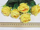 Букет розочек пионовидных, ярко-желтый, фото 2