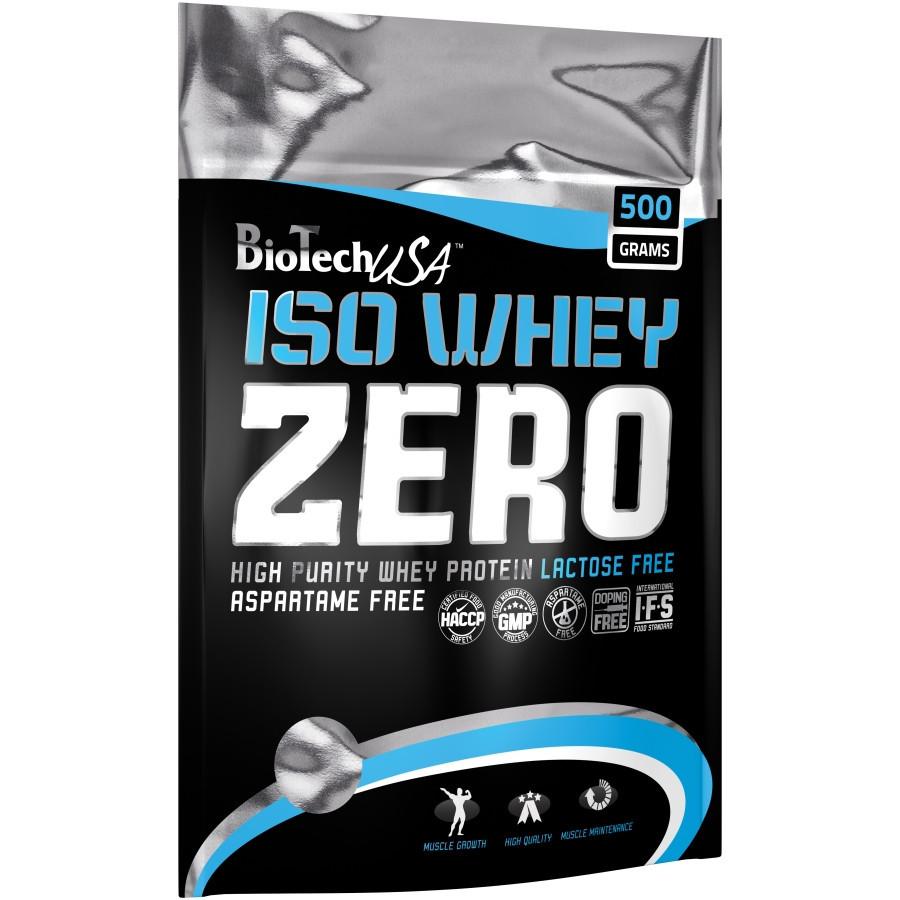 Протеины Изолят Biotech Iso whey zero 500 г