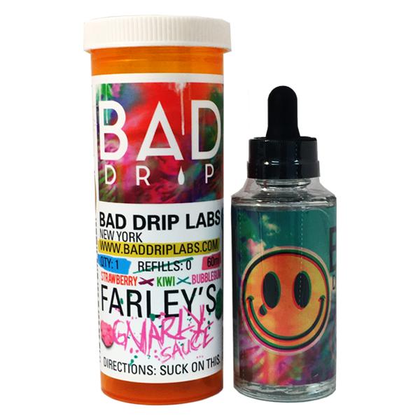 Жидкость Bad Drip Farley's Gnarly Sauce Iced Out 3 мг 120 мл