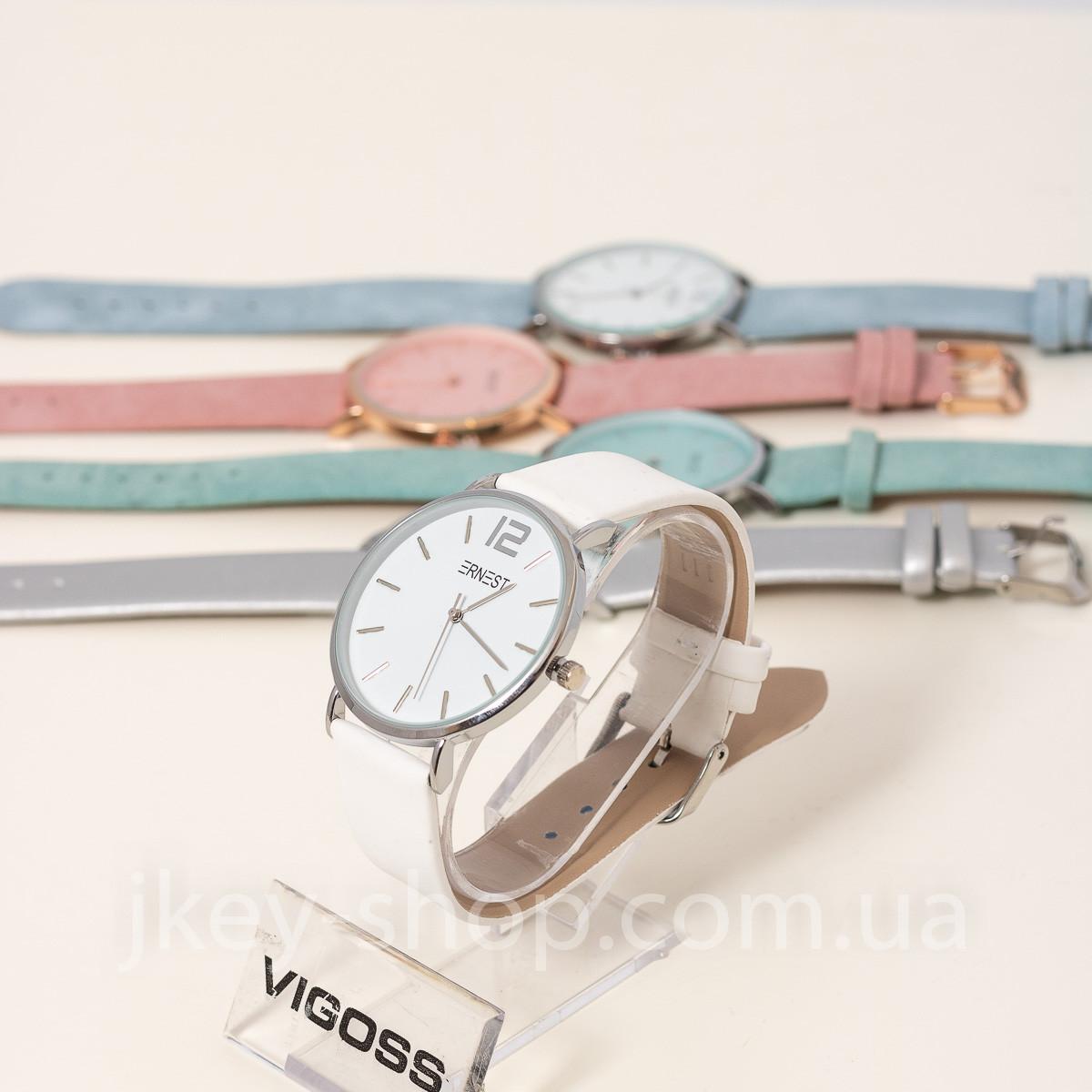 Часы женские WATCH ERNEST E62001-MS WHITE
