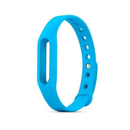 Ремешок для браслета Mi Band 2 (Silicon) Blue, фото 2