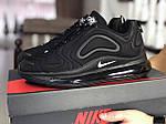 Чоловічі кросівки Nike Air Max 720 (чорні) 8931, фото 2