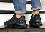 Чоловічі кросівки Nike Air Max 720 (чорні) 8931, фото 3