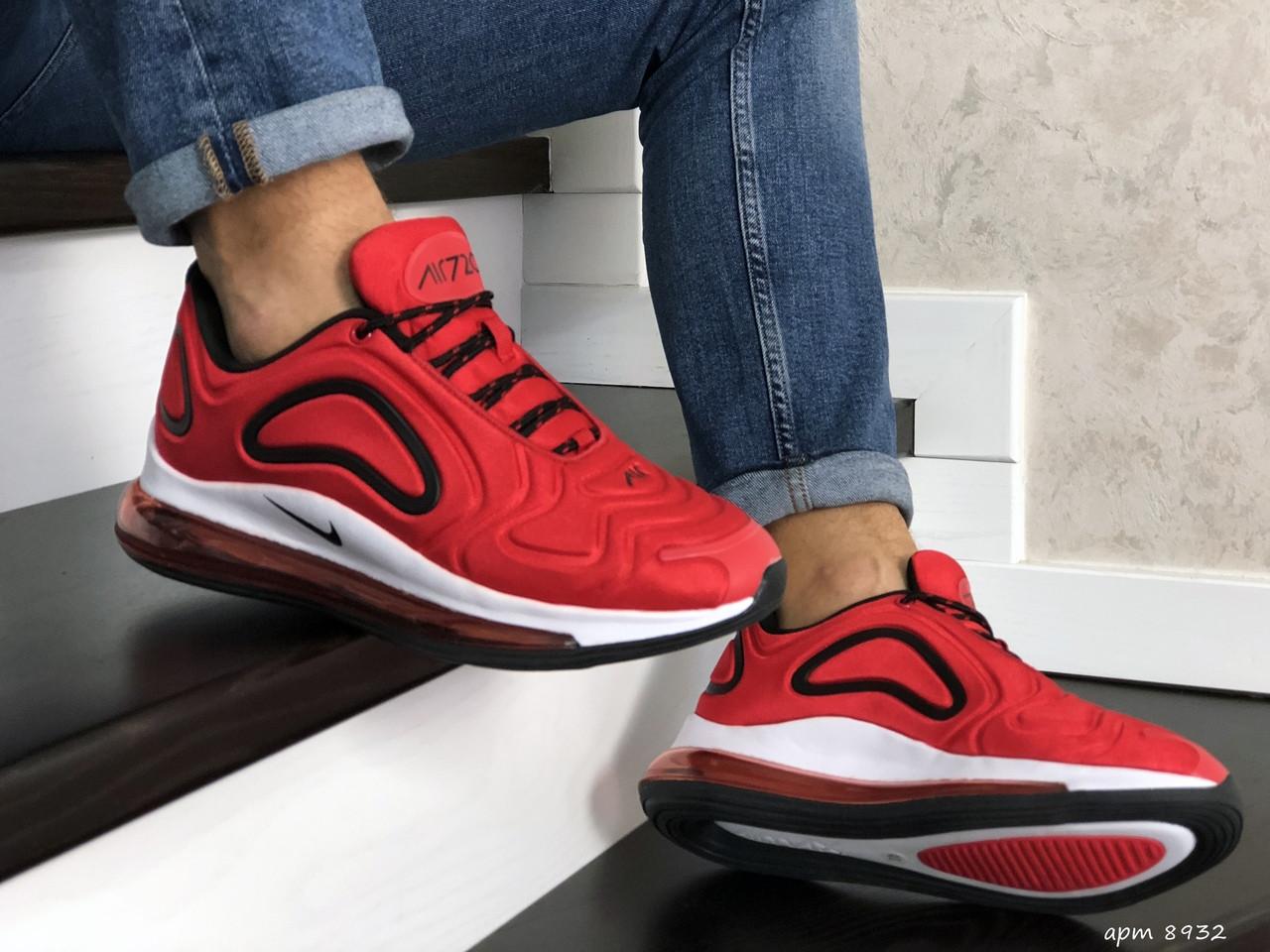 Чоловічі кросівки Nike Air Max 720 (червоно-білі) 8932