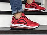 Чоловічі кросівки Nike Air Max 720 (червоно-білі) 8932, фото 3