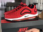 Чоловічі кросівки Nike Air Max 720 (червоно-білі) 8932, фото 2