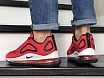 Чоловічі кросівки Nike Air Max 720 (червоно-білі) 8932, фото 4
