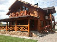 Деревянный дом из клееного бруса, тм ДСМ.