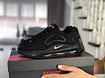 Жіночі кросівки Nike Air Max 720 (чорні) 8933, фото 3