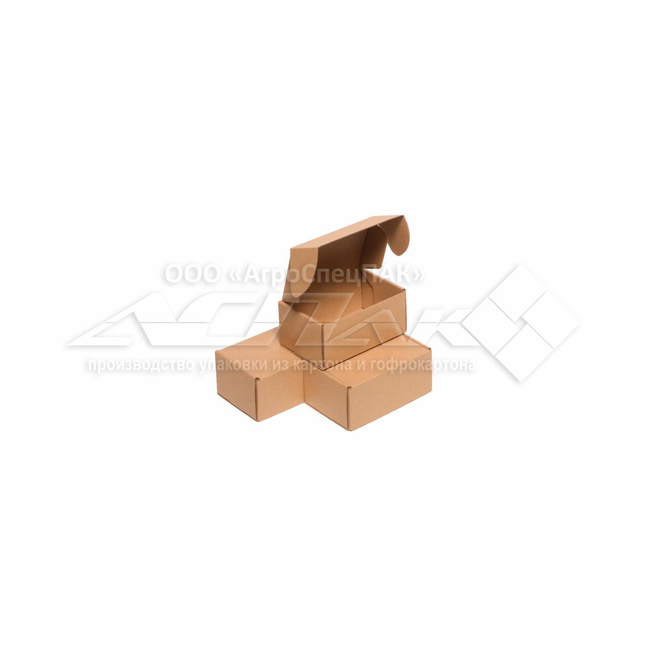 Картонные коробки 150*100*70 крафт - фото 1