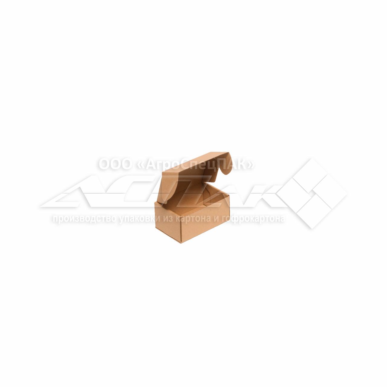 Картонные коробки 150*100*70 крафт - фото 3