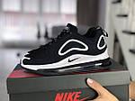 Женские кроссовки Nike Air Max 720 (темно-синие с белым) 8934, фото 3
