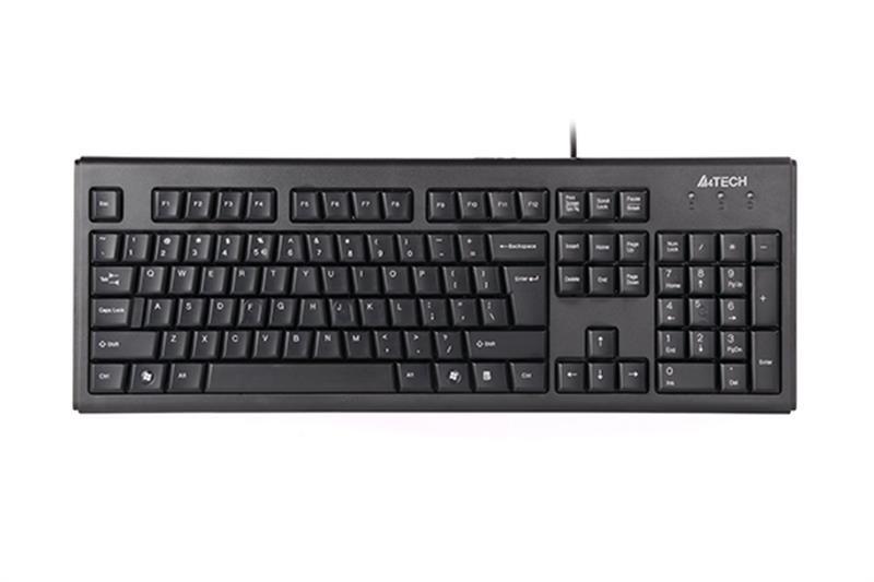 Клавиатура A4tech KRS-83 Black USB