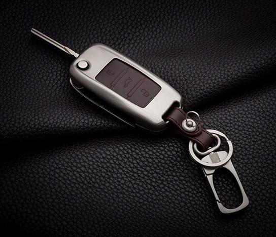 Металлический чехол для ключа Volkswagen Passat,Golf,Tiguan Touareg,Polo,Jetta Amarok,Beetle,Bora,Сaddy,Passat