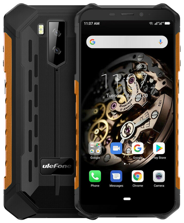 UleFone Armor X5 3/32 Gb orange, 4G, NFC