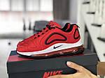 Женские кроссовки Nike Air Max 720 (красные) 8939, фото 2