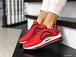 Женские кроссовки Nike Air Max 720 (красные) 8939, фото 3