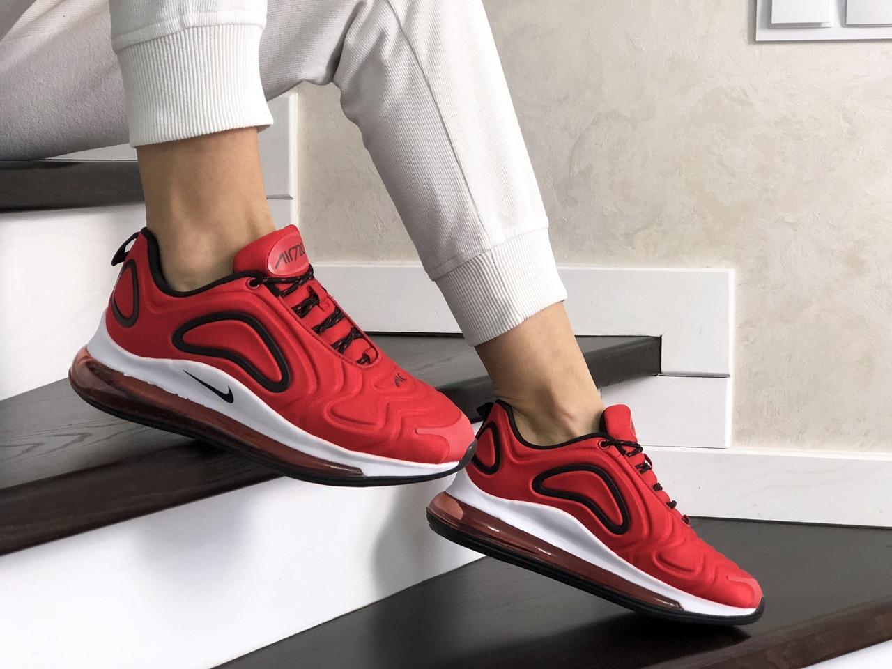 Женские кроссовки Nike Air Max 720 (красные) 8939