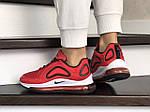 Женские кроссовки Nike Air Max 720 (красные) 8939, фото 4