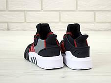 Мужские кроссовки Adidas EQT Basketball ADV Black  . ТОП Реплика ААА класса., фото 3