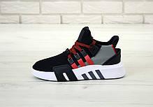 Мужские кроссовки Adidas EQT Basketball ADV Black  . ТОП Реплика ААА класса., фото 2