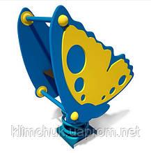 """Качалка (гойдалка) на пружині """"Метелик"""" для дитячих ігрових майданчиків KidSport"""