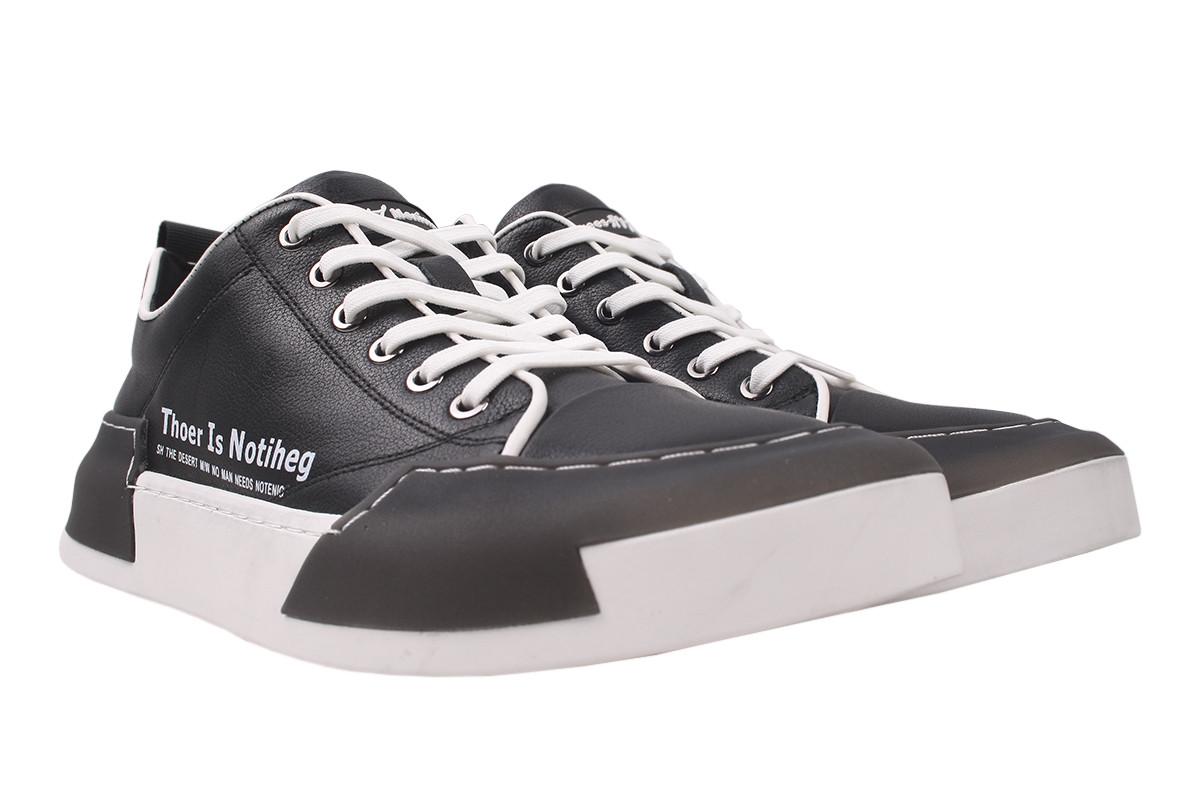 Туфлі чоловічі Arees комфорт натуральна шкіра, колір чорний, розмір 39-44