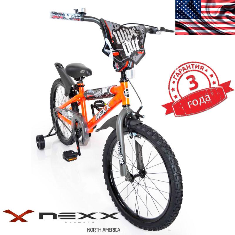 Детский Американский  Велосипед NEXX BOY-20 Orange Splash