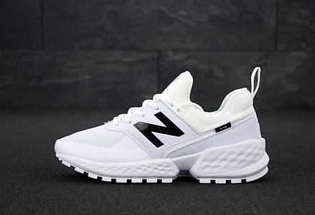Мужские кроссовки New Balance 574 Sport V2 White. ТОП Реплика ААА класса., фото 2