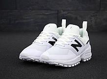 Мужские кроссовки New Balance 574 Sport V2 White. ТОП Реплика ААА класса., фото 3
