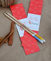 Корпоративные подарки. Растущие карандаши.Подарки с логотипом компании. Брендированные подарки. Подарок школьн
