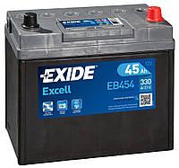 Аккумулятор Exide Excell 6СТ-45 АЗІЯ Евро (EB454)