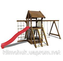 """Ігровий комплекс """"Ранчо"""" висота гірки 1,5 м. для дитячих ігрових майданчиків KidSport"""