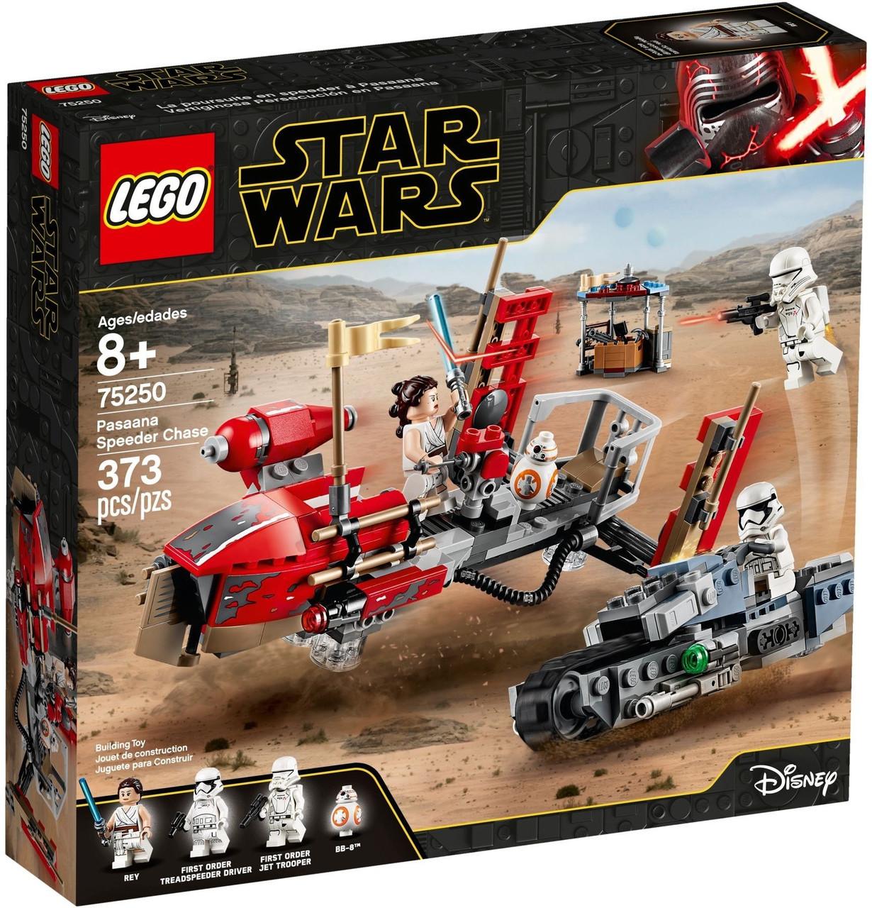 LEGO 75250 Star Wars  - погоня на спідерах (ЛЕГО погоня на спидерах)