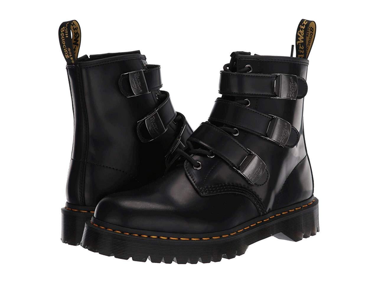 Ботинки/Сапоги (Оригинал) Dr. Martens 1460 Fenimore Bex Moto Black