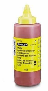 Порошок меловой красный для наружных кладочных работ 225 г Stanley