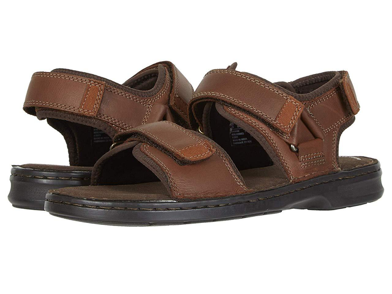 Сандали/Вьетнамки Clarks Malone Shore Tan Leather