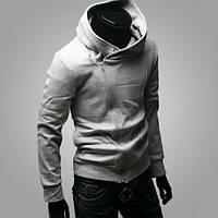 Толстовка, балахон, куртка M, L, XL, XXL код 75 (серый)