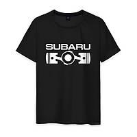 Модная футболка на парня SUBARU