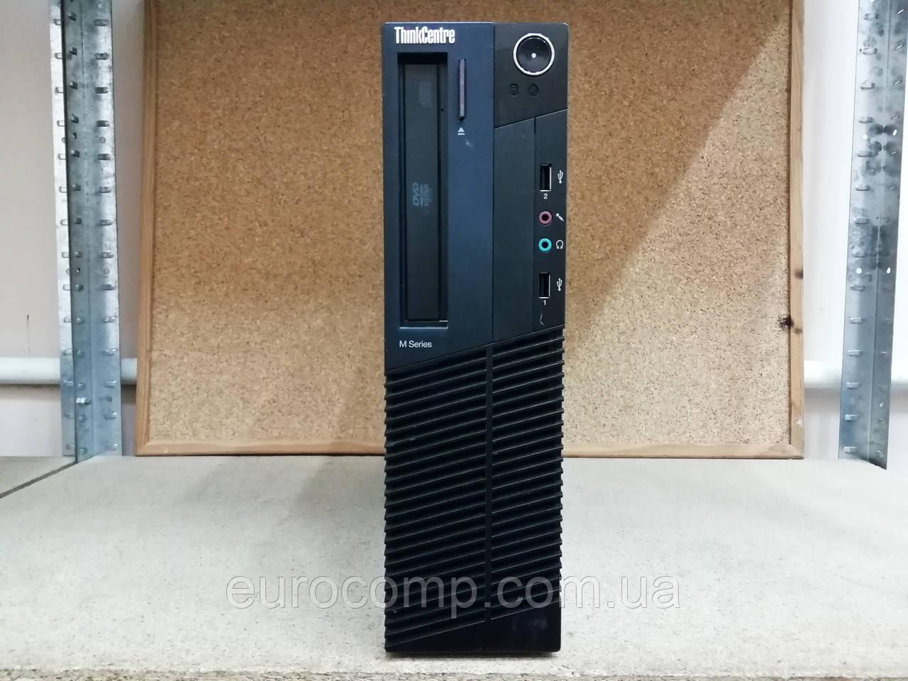 Мини компьютер для дома и офиса на Core i3-2100 Lenovo ThinkCentre M82 SFF (Лицензия Win10 Pro)