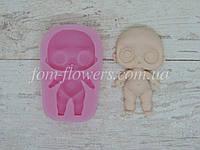 Силиконовый молд (форма) Fom-flowers для создания Куклы Лол 7,4х4,2 см, 1 шт.